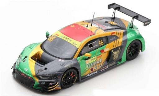 Audi R8 1/43 Spark LMS GT3 No.66 Sport Asia Team TSRT Fia GT World Cup Macau 2019 W.Chen miniature