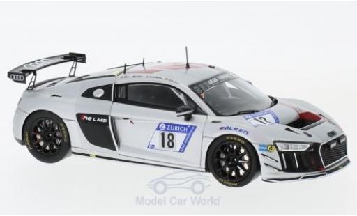 Audi R8 1/43 Spark LMS GT4 No.18 Sport Team Phoenix 24h Nürburgring 2017 C.Abt/R.Frey/P.Huisman/P.Terting miniature