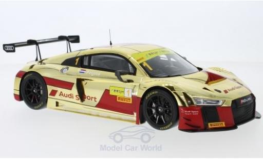 Audi R8 1/18 Spark LMS No.1 Sport Team WRT GT Cup Macau 2017 R.Frijns miniatura