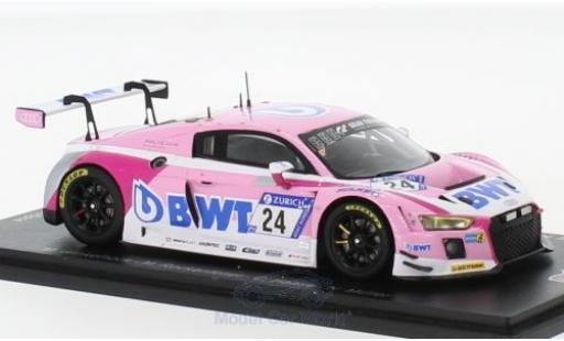 Audi R8 1/43 Spark LMS No.24 Sport Team BWT 24h Nürburgring 2018 M.Winkelhock/M.Rockenfeller/C.Haase/N.Müller modellino in miniatura