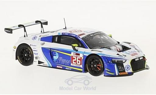 Audi R8 1/43 Spark LMS No.26 Sainteloc Racing 24h Spa 2017 C.Kelders/M.Rostan/F.Bouvy miniature