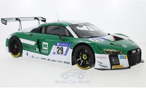 Audi R8 1/12 Spark LMS No.29 Sport Team Land 24h Nürburgring 2017 C.de Phillippi/C.Mies/M.Winkelhock/K.van der Linde miniature