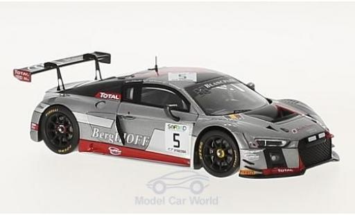 Audi R8 1/43 Spark LMS No.5 Sport Team WRT 24h Spa 2017 M.Fässler/A.Lotterer/D.Vanthoor diecast model cars