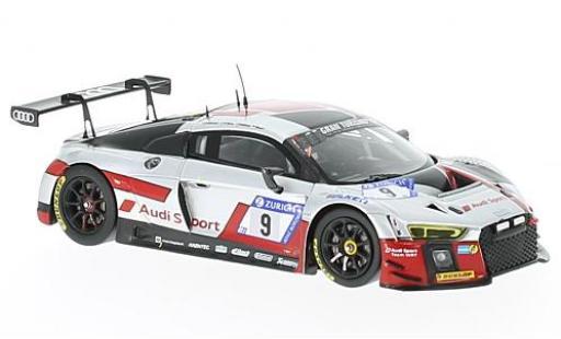 Audi R8 1/43 Spark LMS No.9 Sport Team WRT 24h Nürburgring 2017 N.Müller/M.Fässler/R.Frijns/R.Rast miniature