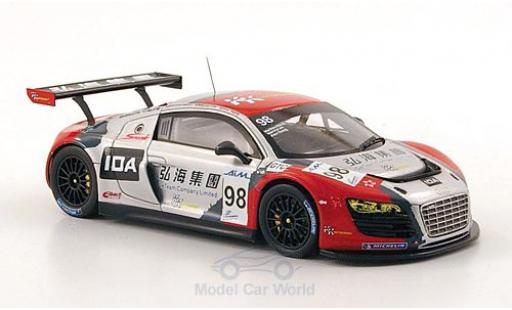Audi R8 1/43 Spark LMS No.98 KK Performance ILMC 1000km Zhuhai 2010 M.Lee/A.Yoong/M.Marsh diecast model cars