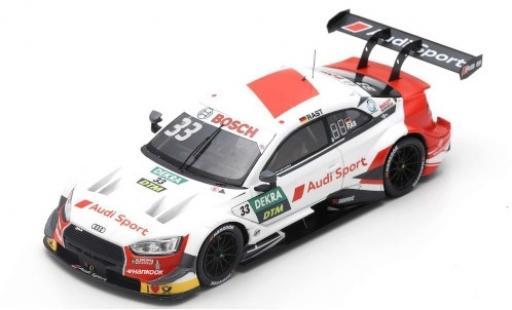 Audi RS5 1/43 Spark RS 5 DTM No.33 Sport Team Rosberg DTM 2019 R.Rast miniature