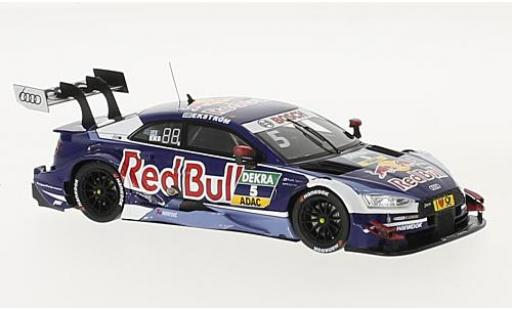 Audi RS5 1/43 Spark RS 5 DTM No.5 Sport Team Abt Sportline Red Bull DTM 2017 M.Ekström diecast model cars
