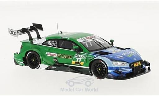 Audi RS5 DTM 1/43 Spark RS 5 No.77 Sport Team Phoenix ARAL ultimate / Castrol EDGE 2017 L.Duval diecast model cars