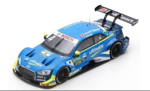 Audi RS5 1/43 Spark RS 5 No.4 Sport Team Abt Sportsline ARAL DTM 2019 R.Frijns diecast model cars