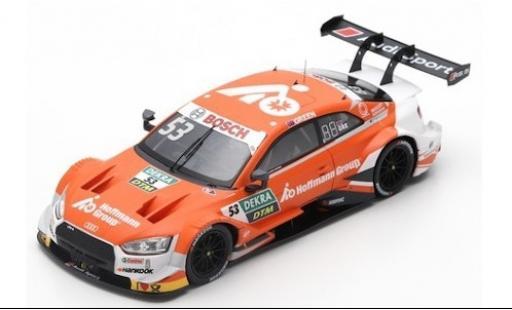 Audi RS5 1/43 Spark RS 5 No.53 Sport Team Rosberg Hoffmann Group DTM 2019 J.Green miniature