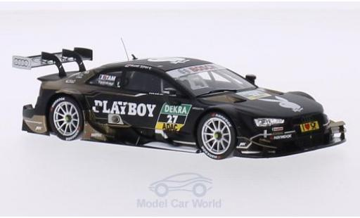 Audi RS5 DTM 1/43 Spark No.27 Sport Team Abt Sportsline Playboy 2015 A.Tambay miniature