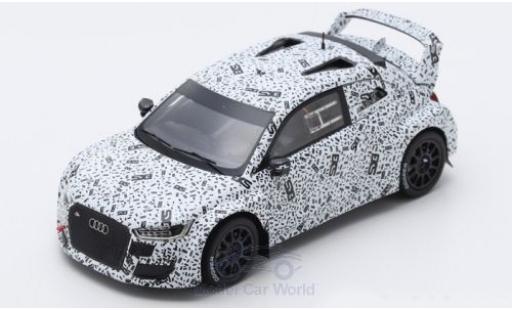 Audi S1 1/43 Spark EKS RX EKS Sport World RX Loheac 2018 Testversion M.Ekström miniature