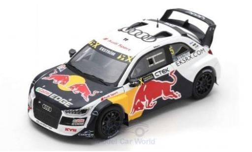 Audi S1 1/43 Spark EKS RX quattro No.5 Team EKS Red Bull World RX Spanien 2018 M.Ekström coche miniatura