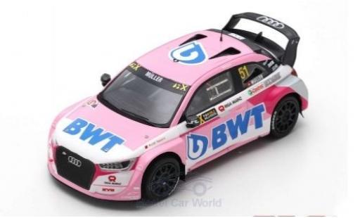 Audi S1 1/43 Spark EKS RX quattro No.51 EKS Sport BWT World RX Lettland 2018 N.Müller miniature