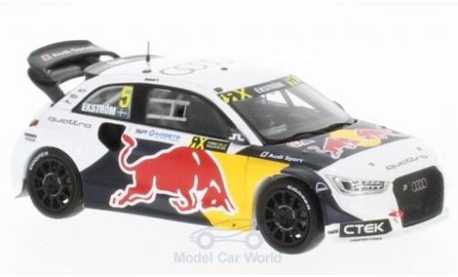Audi S1 1/43 Spark No.5 Red Bull Rallye-Cross Hockenheim 2016 M.Ekström coche miniatura
