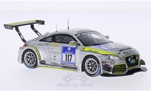 Audi TT RS 1/43 Spark No.117 Scuderia Colonia e.V. 24h Nürburgring 2015 M.Wasel/T.Wasel/M.Löhnert/E.Deegener