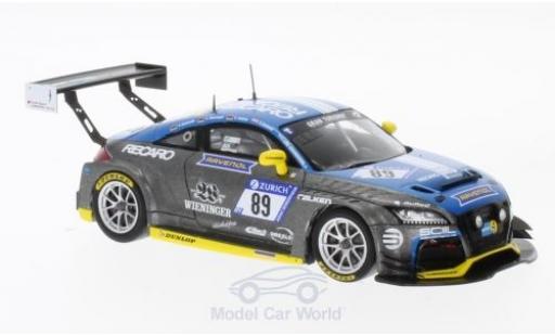 Audi TT RS 1/43 Spark  No.89 LMS Engineering 24h Nürburgring 2017 S.Wieninger/U.Andree/D.Schmid/C.Schmitz miniature