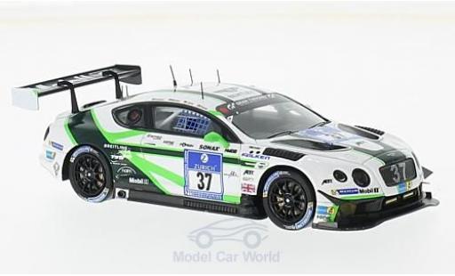 Bentley Continental T 1/43 Spark GT3 No.37 Team ABT 24h Nürburgring 2016 C.Jöns/S.Kane/M.Holzer/C.Brück diecast