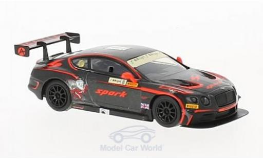 Bentley Continental 1/64 Spark GT3 RHD No.8 Team Absolute GP Macau 2015 A.Fong diecast
