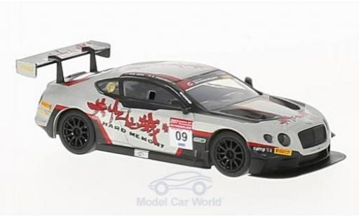 Bentley Continental T 1/64 Spark GT3 RHD No.9 Hard Memory Team Absolute GP China 2017 H.Geng/A.Imperatori miniature