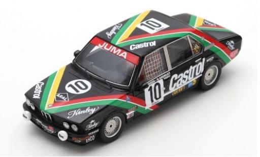 Bmw 530 1/43 Spark i No.10 Castrol 24h Spa 1977 E.Joosen/J-C.Andruet miniature