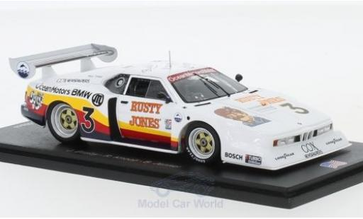 Bmw M1 1/43 Spark No.3 Ocean Motors 24h Daytona 1980 J.Busby/B.Jenner/R.Knoop diecast