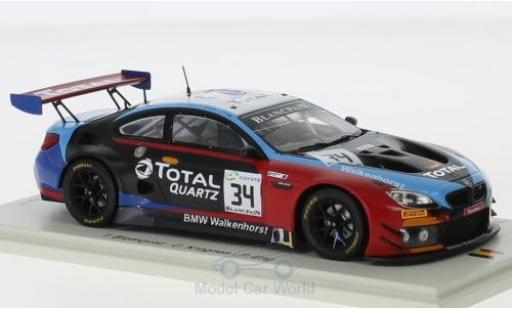 Bmw M6 1/43 Spark GT3 No.34 Walkenhorst Motorsport 24h Spa 2018 T.Blomqvist/C.Krognes/P.Eng diecast model cars