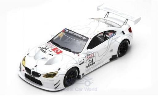 Bmw M6 1/18 Spark GT3 No.34 Walkenhorst Motorsport VLN 2018 C.Krognes/D.Pittard/R.Adams miniature