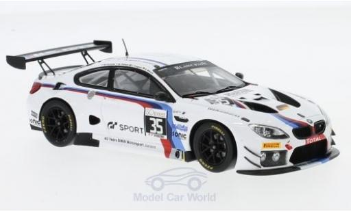 Bmw M6 1/43 Spark BMW GT3 No.35 Walkenhorst Motorsport 24h Spa 2017 M.Palttala/C.Krognes/N.Menzel/M.Henkola diecast
