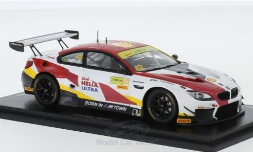 Bmw M6 1/43 Spark GT3 No.42 Team Schnitzer S Fia GT World Cup Macau 2018 A.Farfus diecast model cars