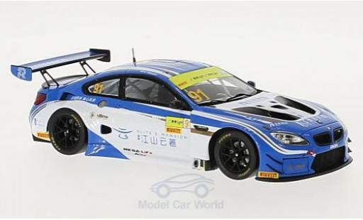 Bmw M6 1/43 Spark GT3 No.91 FIST Team AAI Fia GT World Cup Macau 2017 M.Wittmann miniature