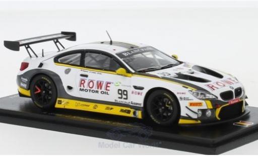Bmw M6 1/43 Spark GT3 No.99 ROWE Racing 24h Spa 2018 A.Sims/J.Klingmann/N.Catsburg miniature