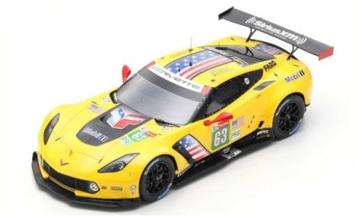 Chevrolet Corvette 1/18 Spark C7.R No.63 Racing 24h Le Mans 2019 J.Magnussen/A.Garcia/M.Rockenfeller