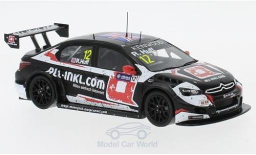 Citroen C Elysee 1/43 Spark - No.12 Team All-Inkl.com Münnich Motorsport WT Macau Guia Race 2017 R.Huff miniature