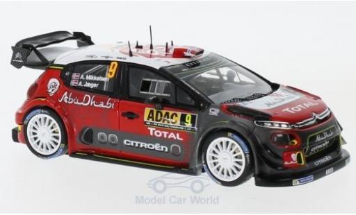 Citroen C3 1/43 Spark WRC No.7 Total Abu Dhabi WRT Rallye WM Rallye Deutschland 2017 A.Mikkelsen/A.Jäger