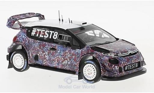 Citroen C3 1/43 Spark WRC WRC 2017 Test Car miniature