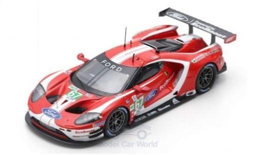 Ford GT 1/43 Spark No.67 Chip Ganassi Team UK 24h Le Mans 2019 A.Priaulx/H.Tincknell/J. Bomarito diecast model cars