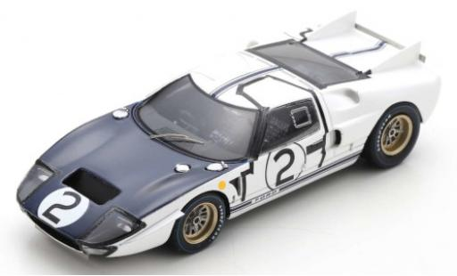 Ford GT40 1/43 Spark MKII RHD No.2 24h Le Mans 1965 P.Hill/C.Amon