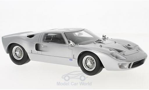 Ford GT 40 1/18 Spark 40 grise 1966 miniature