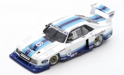 Ford Mustang 1/43 Spark Zakspeed No.6 Sears Point 1982 R.Mears