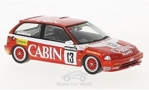 Honda Civic 1/43 Spark EF3 RHD No.13 Cabin Macau Guia Race 1988 K.Shimizu diecast