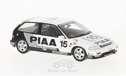 Honda Civic 1/43 Spark EF3 RHD No.15 PIAA JTC Suzuka 1989 H.Okada/K.Sato miniatura