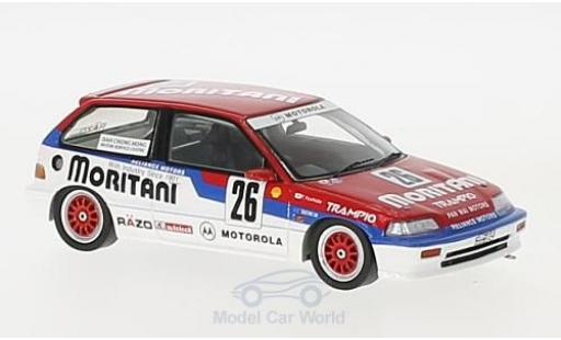 Honda Civic 1/43 Spark EF3 RHD No.26 Macau Guia Race 1990 T.Yoshida diecast model cars