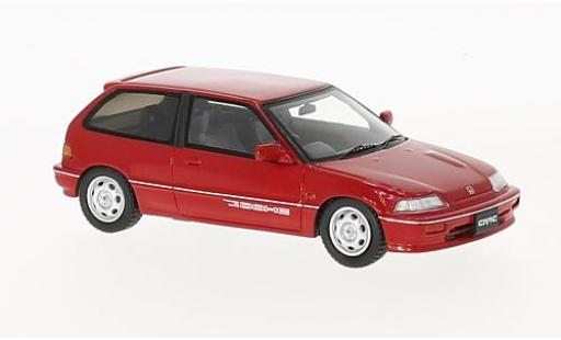 Honda Civic 1/43 Spark (EF3) Si red RHD 1987 diecast model cars