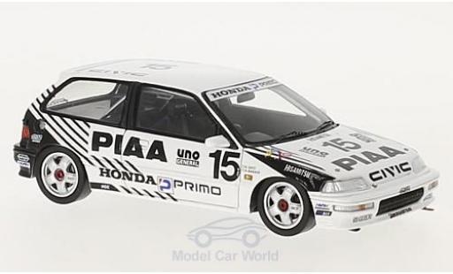 Honda Civic 1/43 Spark EF9 RHD No.15 PIAA JTC 500km Suzuka 1990 A.Nakaya/K.Sato diecast model cars