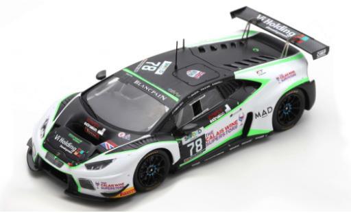 Lamborghini Huracan 1/43 Spark GT3 No.78 Barwell Motorsport 24h Spa 2016 M.Attard/L.Machitski/M.Mapelli/T.Kimber-Smith