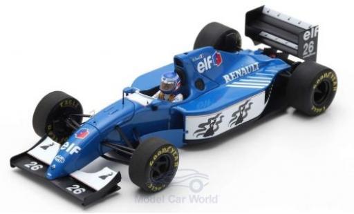Ligier JS3 1/43 Spark 9B No.26 Formel 1 GP Deutschland 1994 O.Panis diecast model cars