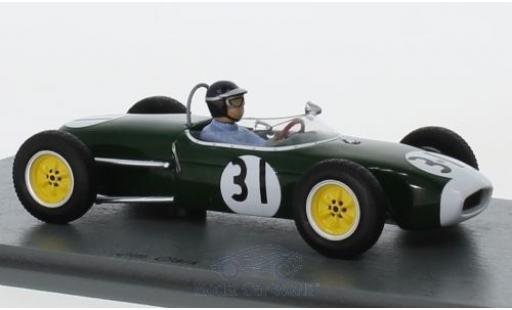 Lotus 18 1/43 Spark Formula Junior No.31 Oulton Park 1960 J.Clark miniature