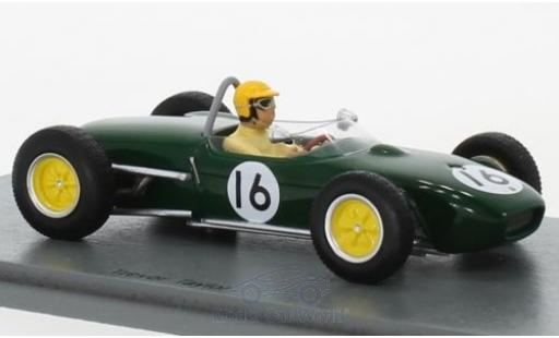 Lotus 18 1/43 Spark No.16 Formel 1 GP Niederlande 1961 T.Taylor miniature