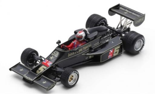 Lotus 77 1/43 Spark No.5 John Player Special Formel 1 GP Japan 1976 M.Andretti diecast model cars